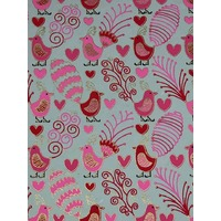 Fabric Paper - RED - G