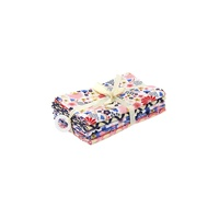 Fabric Pack Japanese Florals 5 x pieces