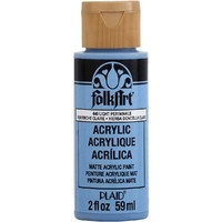 Light Periwinkle PLAID FOLKART ACRYLIC 2 OZ - 640