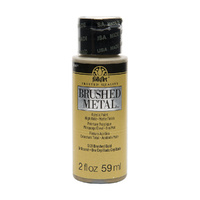 Plaid FolkArt - Gold - Brushed Metal Acrylic Paint 5121 59ml