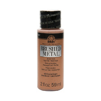 Plaid FolkArt - Copper - Brushed Metal Acrylic Paint 5125 59ml
