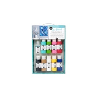 Pre-Mixed Pour Art Starter Kit 25pc set