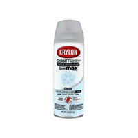 Krylon Colormaster Acrylic Crystal Clear Spray Paint, 11 Oz. 311 gms