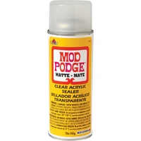 Mod Podge ® Clear Acrylic Sealer Spray - Matte, 12 oz. 340gms (1469)