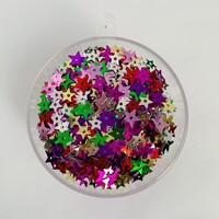 Green Star Sequins - 100 grams