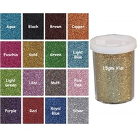 Brown 15 gram Ultra Fine Glitter