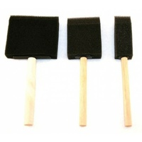 Foam Brushes 3 x 25mm