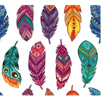 Dixie Belle - Feathers Rice Paper 3 Sheets 29.99 x 32cm