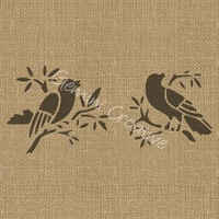 Gemini Creative Two Birds Stencil