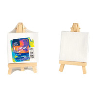 Small Canvas on Easel - 7 x 7cm