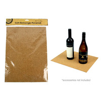 Cork Rectangle Placemat 40x29cm x 2mm