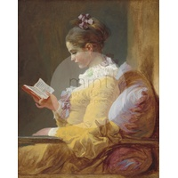 MINT - Young girl reading A1 594mm x 841mm