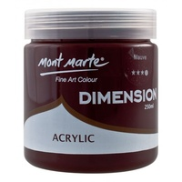 Mont Marte Dimension Acrylic Paint 250ml - Mauve