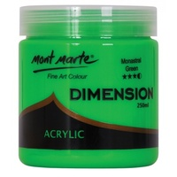 Dimension Acrylic Paint 250ml - Monastral Green