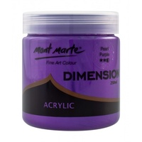 Mont Marte Dimension Acrylic Paint 250ml - Pearl Purple