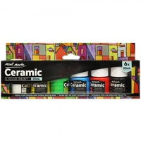 Mont Marte Ceramic Liquid Paint 6pce x 20ml
