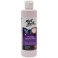 Mont Marte Premium Pouring Acrylic Paint 240ml - Dusty Pink