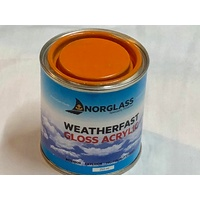 Norglass Weatherfast Gloss Acrylic Orange
