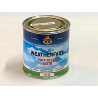 Norglass Weatherfast Poly Clear Satin 250ml