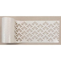 Stick & Style Stencil - Eastern Fountain 1 Metre Cut Length