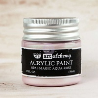 Art Alchemy - Aqua-Rose Opal Magic Paint