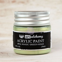 Art Alchemy - Green-Gold Opal Magic Paint