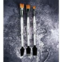 Art Basics- Double Sided Texture Brushes Set 1-3 pcs