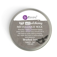 Art Alchemy - Brushed Iron Metallique Wax