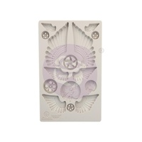 "Finnabair Mould - Cogs and Wings 5"" x 8"""