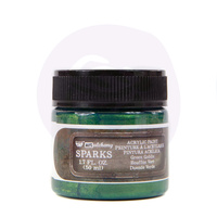 Finnabair Sparks - Green Goblin Art Alchemy Acrylic Paint 50ml