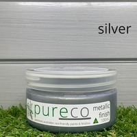 Pureco metallic finish - silver 100ml