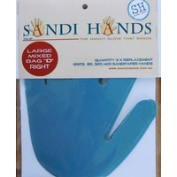 "Sandi Hands Mixed Bag ""D"" LEFT Hand Replacements"