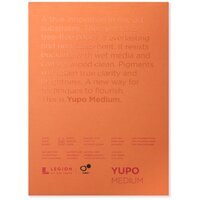 YUPO ULTRA PAD 200g 5 x 7in, 12.5 x 17.8cm WHITE 10 sheets