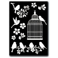 Stamperia - Cage and Birds - Decotransfer A5