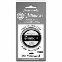 Stamperia Water Based White Patina GEL 25ml