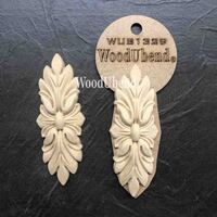 WoodUBend Pack of Two Leaf Bunches WUB1329 10 x 4cm