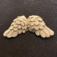 WoodUBend No. 1483 Angel Wings - 1
